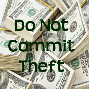 Do Not Commit Theft
